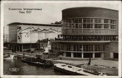 Belgian and Swiss Pavilions, Paris 1937 Exposition