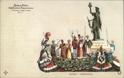 Float - Germania, Hudson-Fulton Celebration Commission Official Post Card