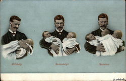 Man with Progression of Babies