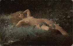 Nude Woman Lying in the Grass