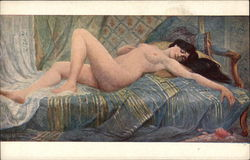 """Nonchalance"" - Nude Woman Reclining"