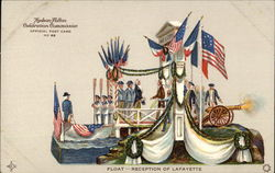 Float - Reception of Lafayette Hudson-Fulton Celebration Commission Official Post Card
