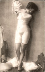 Nude Woman in Stockings & Shoes