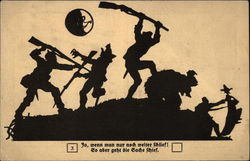 Military Battle Silhouettes