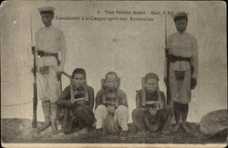 Triple Execution Capitale - Hanoi 6 Aout 1908
