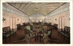 Lounge Room of Steamer Greater Detroit