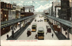 Bowery and Elevated Road
