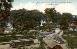 State Grove and Western Ave. from Augusta House