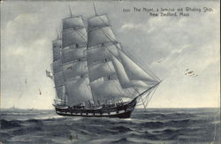 The Niger, a Famour Old Whaling Ship, New Bedford, Mass