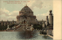 Louisiana Purchase Exposition, St. Louis, 1904, Festival Hall & Grand Cascade