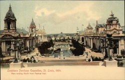 Louisiana Purchase Exposition, St. Louis, 1904, View Looking North from Festival Hall