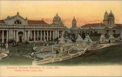 Louisiana Purchase Exposition, St. Louis, 1904, Cascade Gardens Looking West