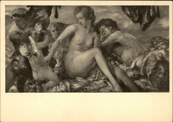 """Mars and Venus"" - Nude with Cherubs"