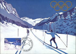 Cross Country Skiing, 1979 Winter Olympics