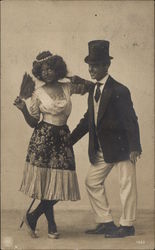 Dancing Couple - Black Face?