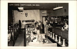 City Cafe Diner Interior