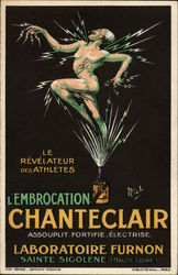 L'Embrocation Chanteclair Postcard