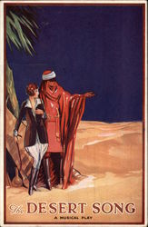 The Desert Song - A Musical Play Postcard