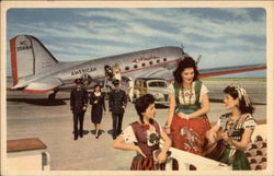 American Airlines Pilots and Stewardess