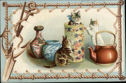 Cats in Pottery
