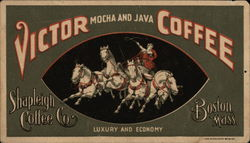 Victor Mocha and Java Coffee