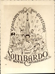 Guy Lombardo and His Royal Canadians Trade Card
