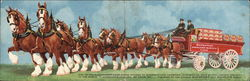 Budweiser - Clydesdales and Wagon