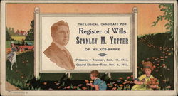 Register of Wills Stanley M. Yetter Blotter