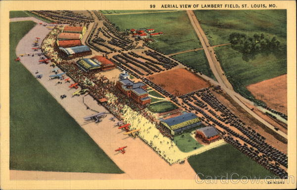 Aerial View of Lambert Field St. Louis Missouri