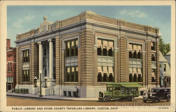 Public Library & Stark County Traveling Library Canton Ohio