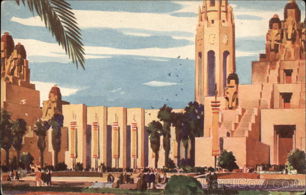 Portals of the Pacific and Giant Elephant Towers 1939 San Francisco Exposition