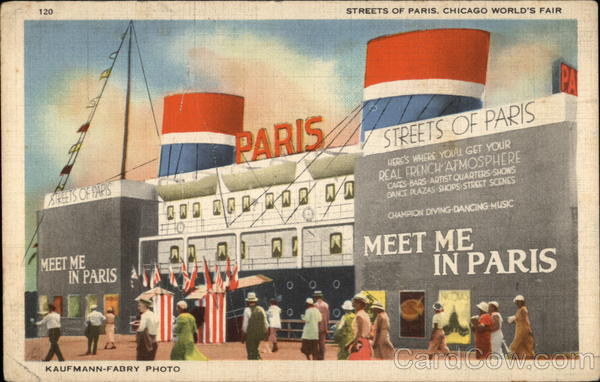 Streets of Paris, Chicago World's Fair Illinois Exposition