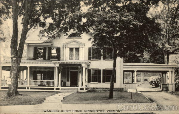 Street View of Wandrey Guest Home Bennington Vermont
