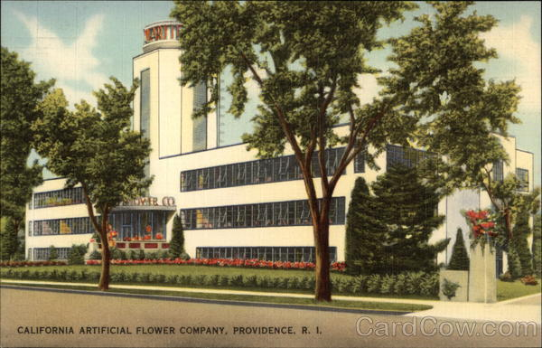 The Calart Building, California Flower Company Providence Rhode Island
