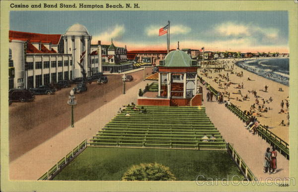 Casino and Band Stand Hampton Beach New Hampshire