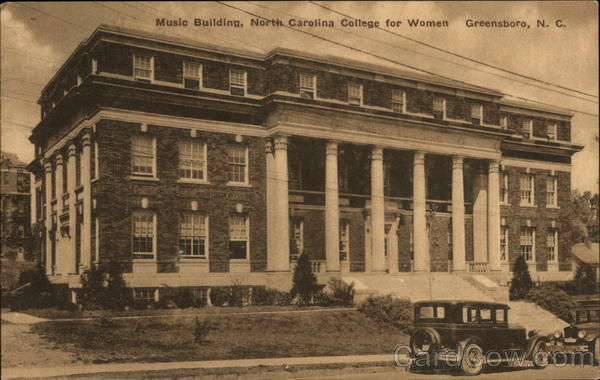 North Carolina College for Women - Music Building Greensboro