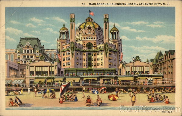 Marlborough-Blenheim Hotel Atlantic City New Jersey