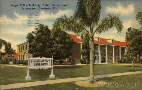 United States Sugar Corporation - Sugar Office Building Clewiston Florida