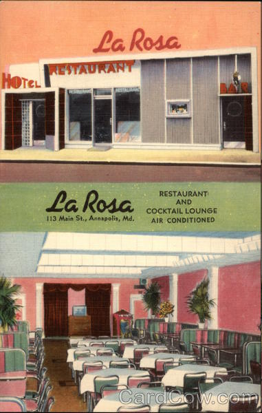 La Rosa Restaurant and Cocktail Lounge Annapolis Maryland