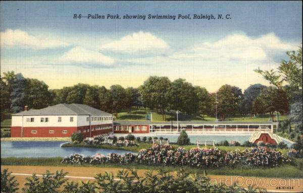 Pullen Park, showing Swimming Pool Raleigh North Carolina