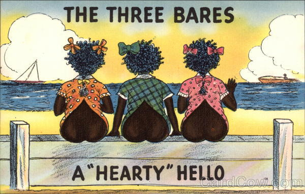 The Three Bares, a Hearty Hello Black Americana