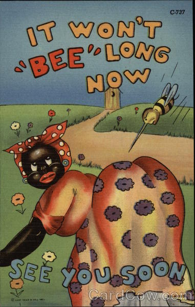 It Won't Bee Long Now -- See You Soon Black Americana