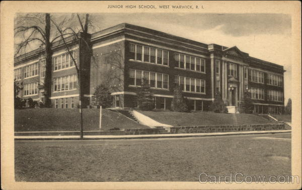 Junior High School West Warwick Rhode Island