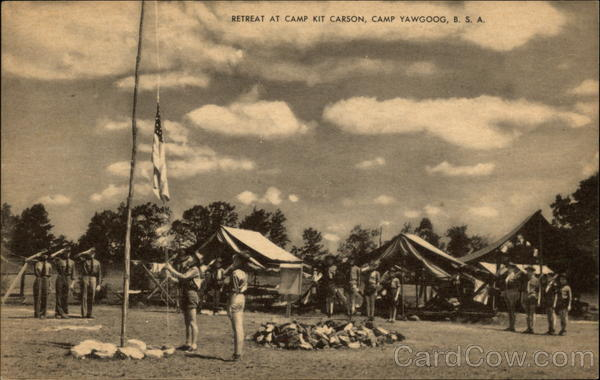 Retreat at Camp Kit Carson, Camp Yawgoog, BSA Rockville Rhode Island