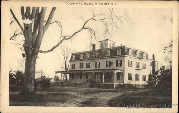 Coldspring House Wickford Rhode Island