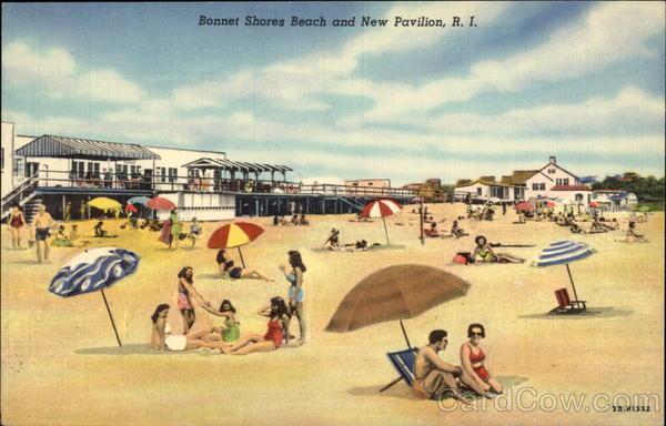 Bonnet Shores Beach And New Pavilion Narragansett Ri