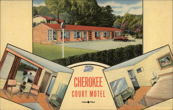 Cherokee Court Motel Chattanooga Tennessee