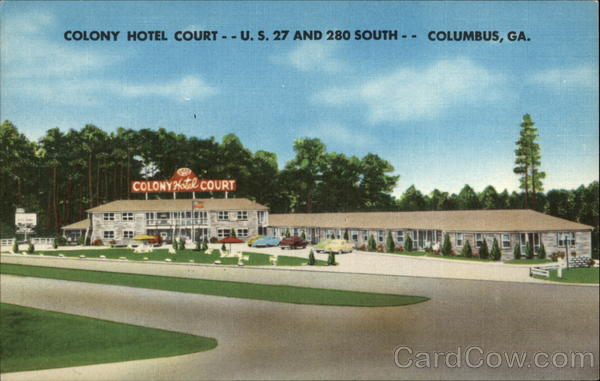 Colony Hotel Court Columbus Georgia