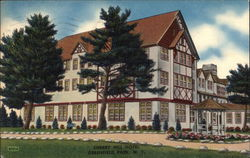 Cherry Hill Hotel Postcard
