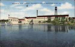 Marinette Paper Company Groundwood Mill